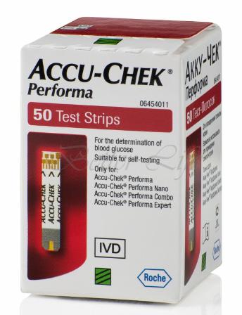Accu-chek Performa 50 Test Strips