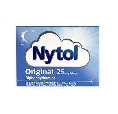 Nytol Original 25mg Tablets