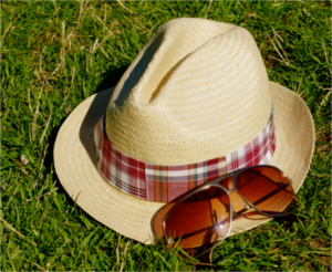 Summer Sun Protection: Glasses & Hat